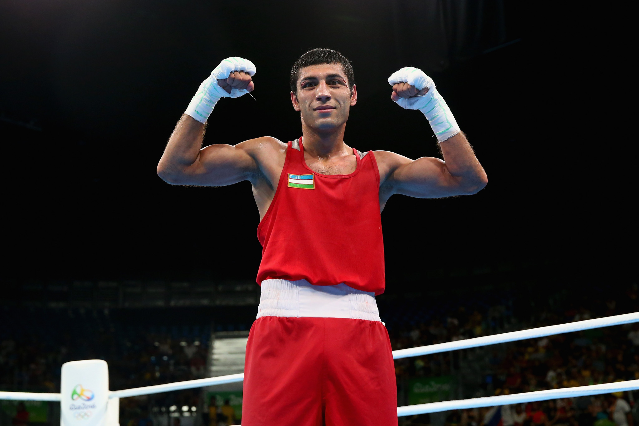 Olympic champion Shakhobidin Zoirov added the Asian flyweight title but the result has been contested ©Getty Images