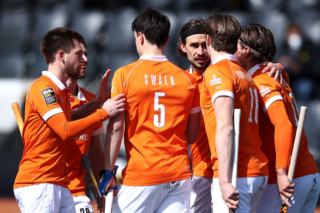 The Dutch men made a winning start in the home EuroHockey Championships in Amstelveen tonight ©Getty Images