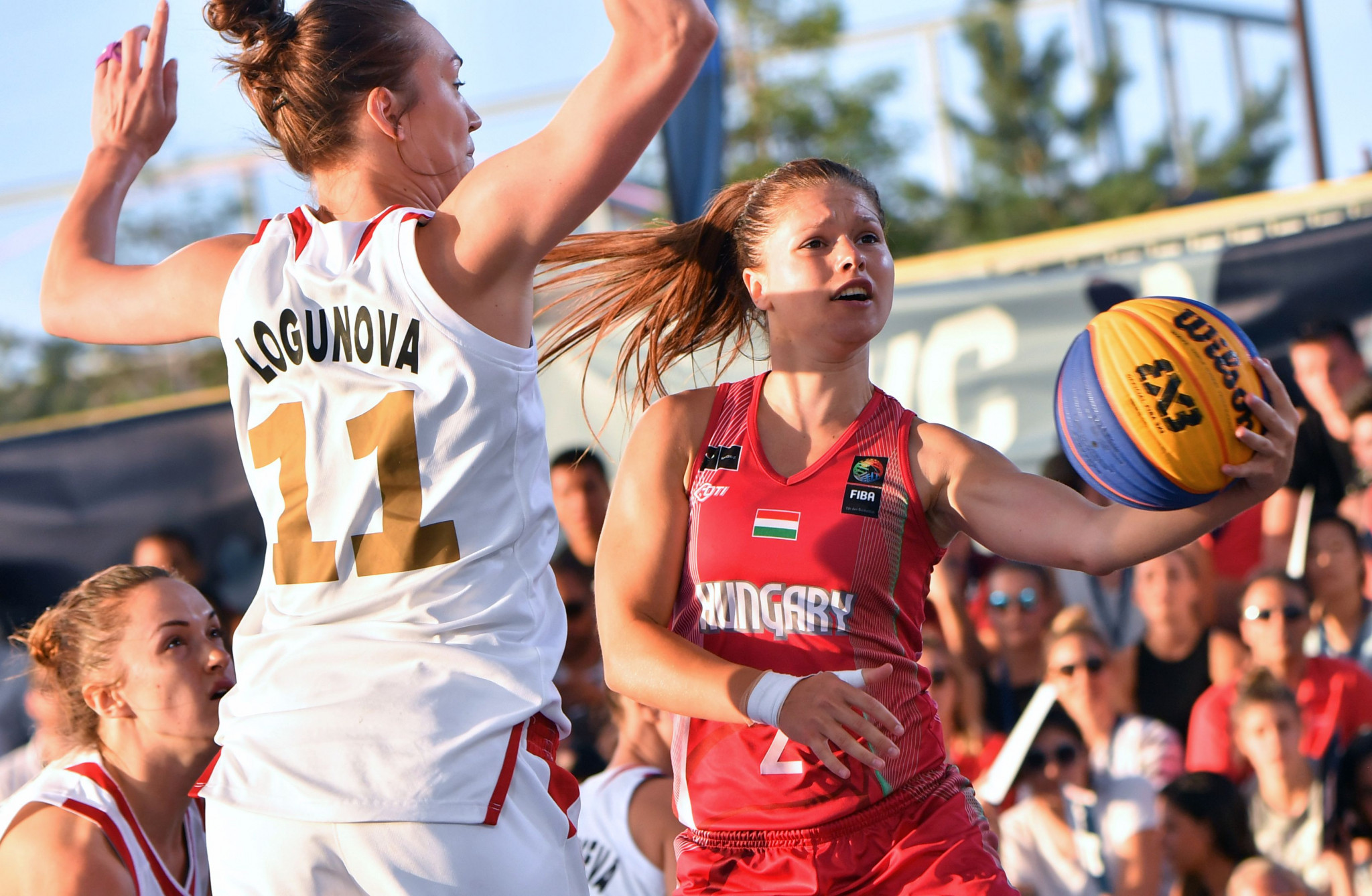 Hungary's women topped their pool after the first day of the FIBA 3x3 Universality Olympic Qualifying Tournament in Debrecen ©Getty Images