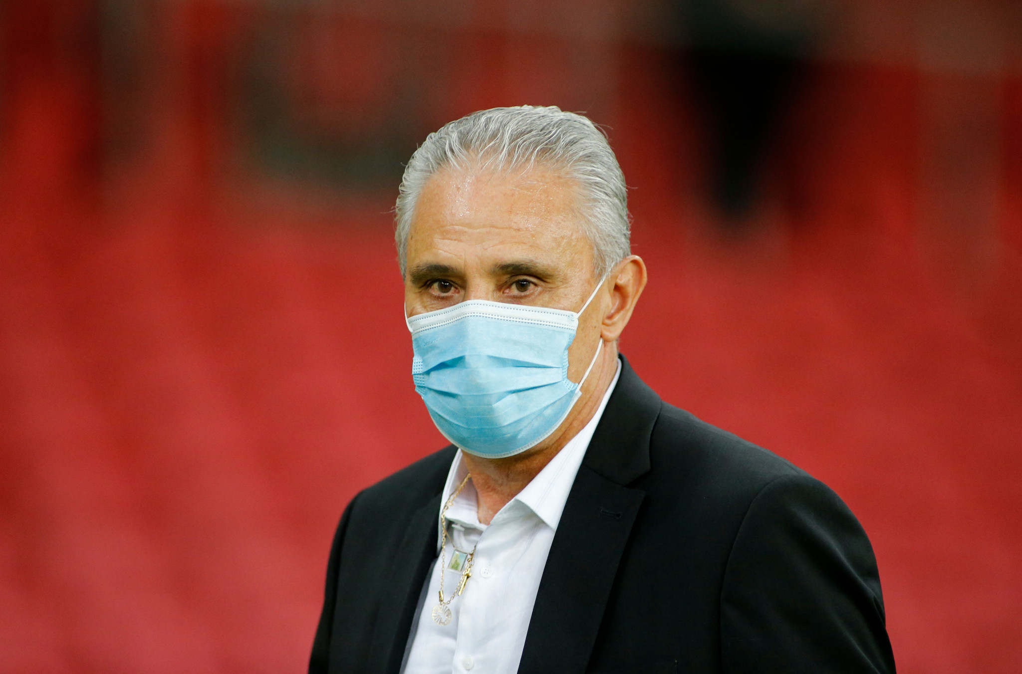 Brazilian coach Tite indicated at a pre-match press conference that players were against the Copa América being staged in Brazil ©Getty Images