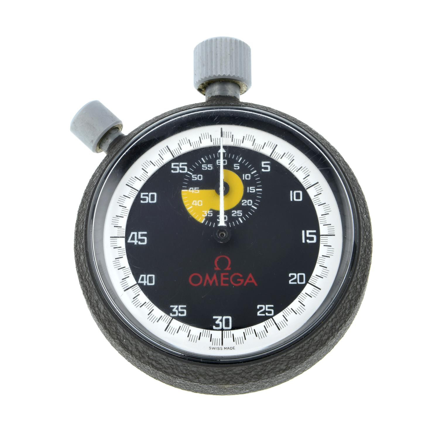 Jack Taylor's stopwatch, manufactured by Omega, is expected to fetch up to £5,000 at auction ©Fellows