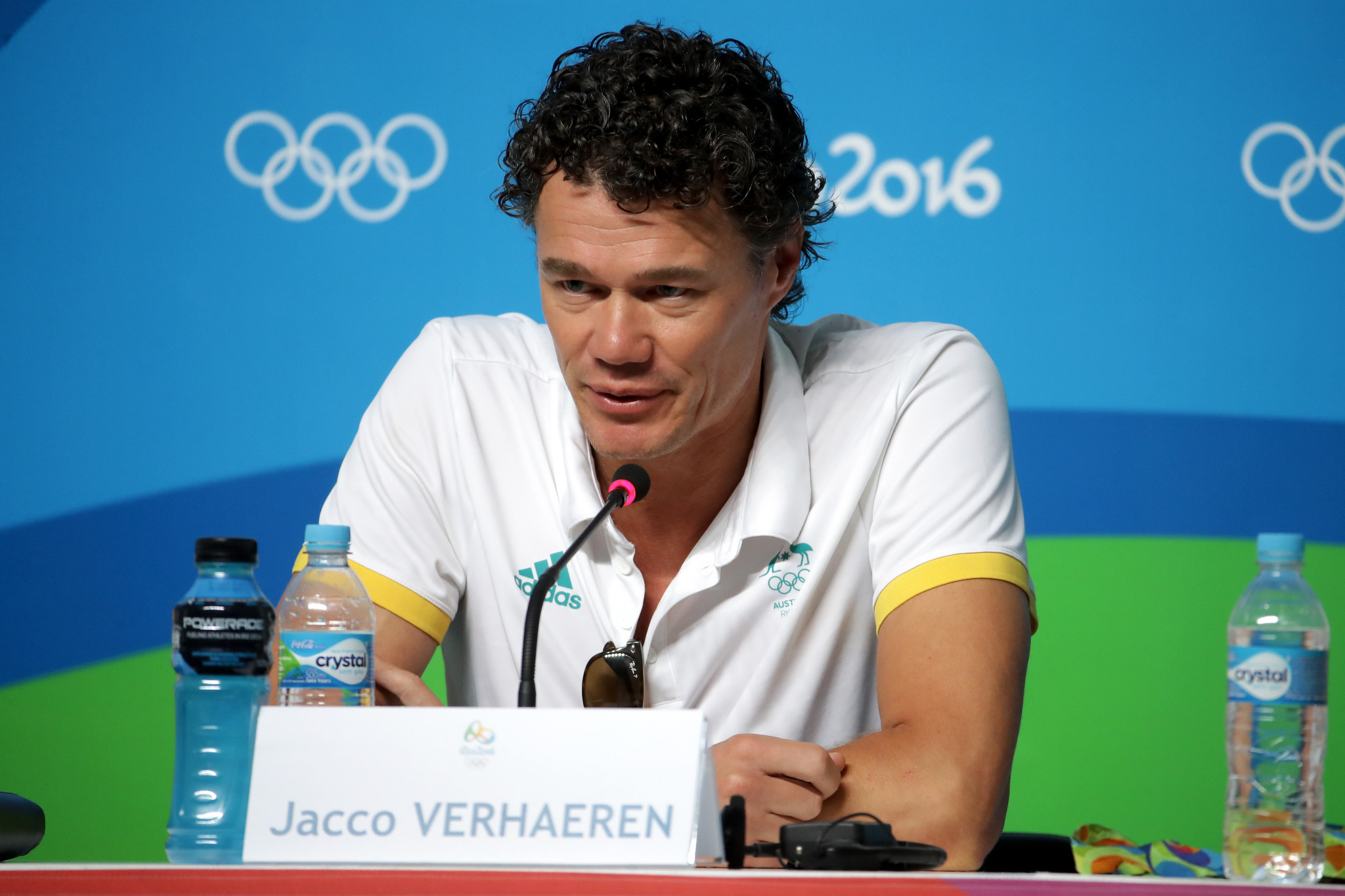 Jacco Verhaeren led the Australian team at the Rio 2016 Olympic Games ©Getty Images