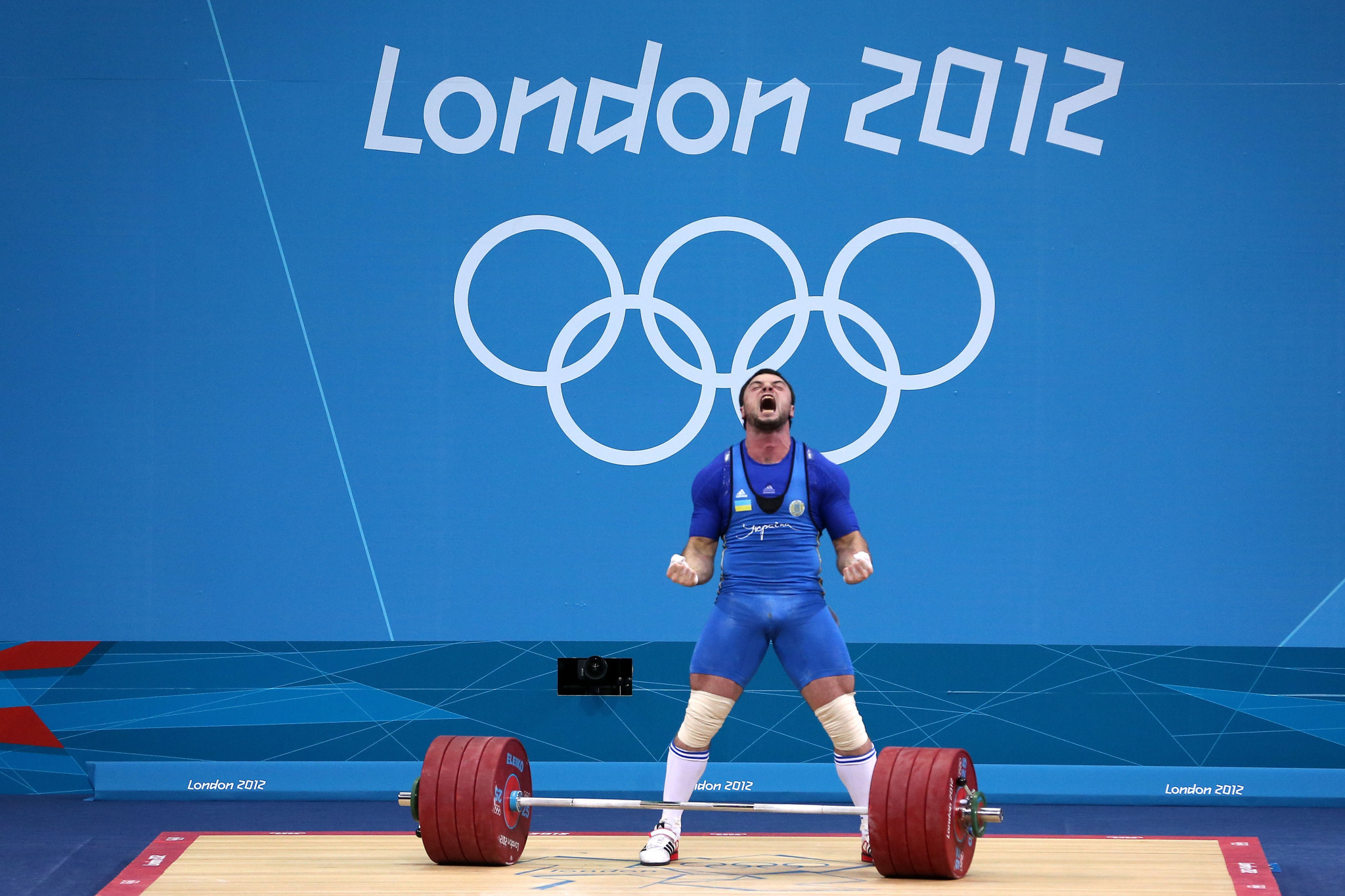 Ukraine forfeited a 2012 gold medal when Oleksiy Torokhtiy later tested positive for a banned substance ©Getty Images
