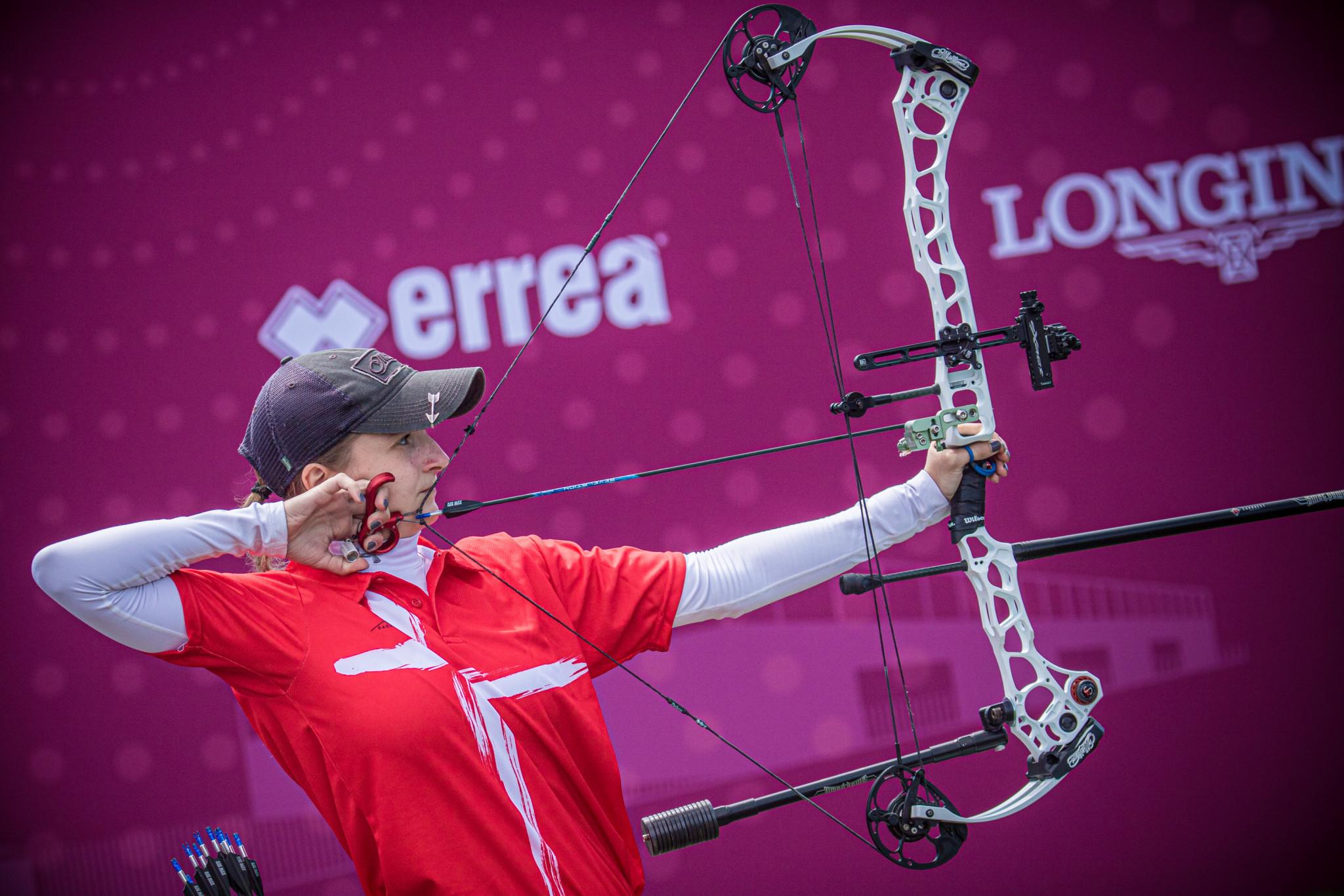 Gellenthien earns compound title at European Archery Championships in Antalya