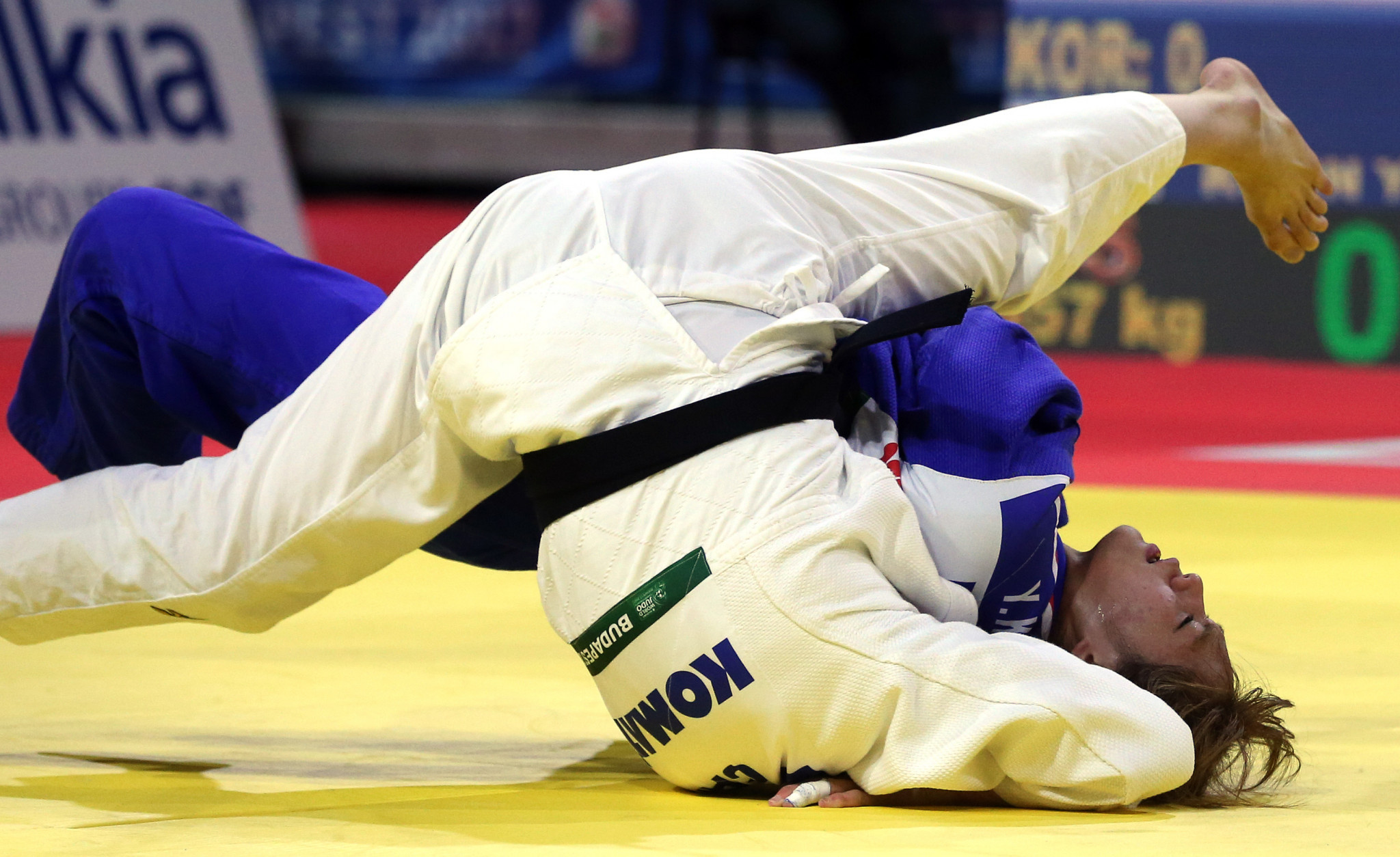 The László Papp Budapest Sports Arena last held the World Judo Championships in 2017 ©Getty Images