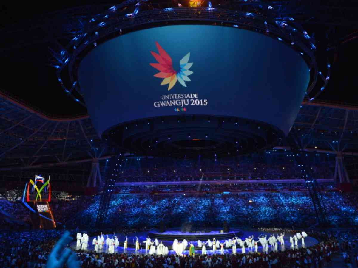 A record number of athletes competed the last time South Korea hosted the Summer Universiade, as it was then called, at Gwangju in 2015 ©Getty Images