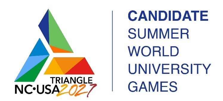 North Carolina launch logo as campaign for 2027 Summer World University Games hots up