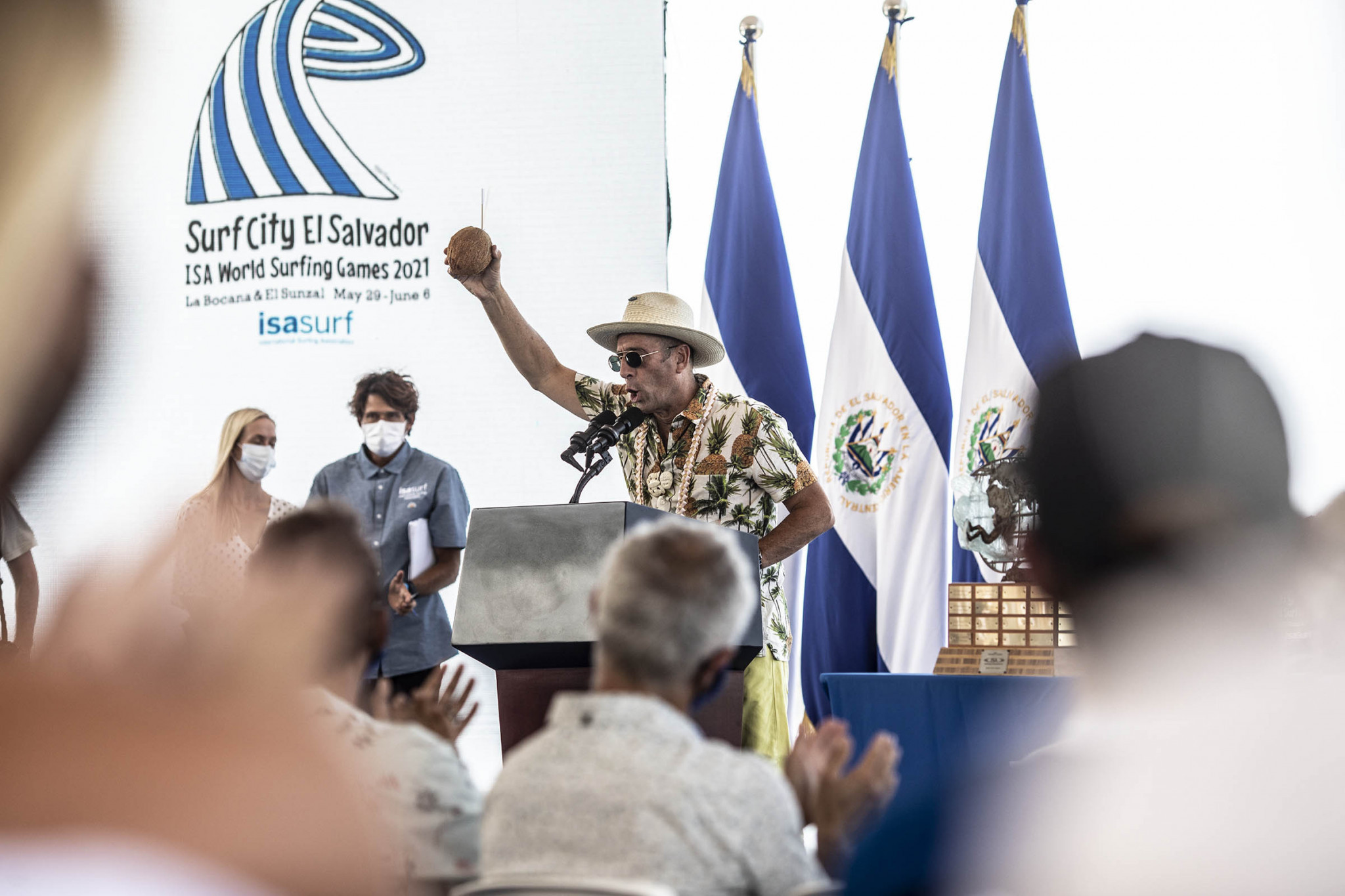 """ISA President insists withdrawals do not detract from """"wonderful"""" World Surfing Games"""