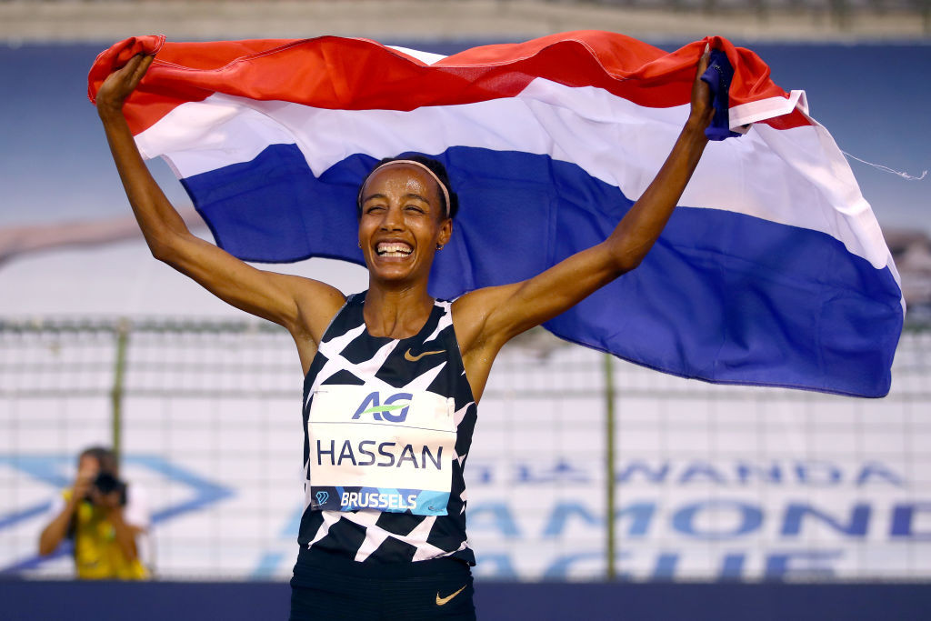 Hassan takes more than 10 seconds off Ayana's world 10,000m record in Hengelo