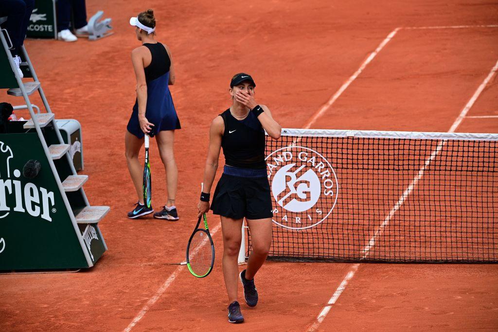 Spain's Paula Badosa upset 2019 runner-up Markéta Vondroušová to reach the last eight of the women's draw ©Getty Images