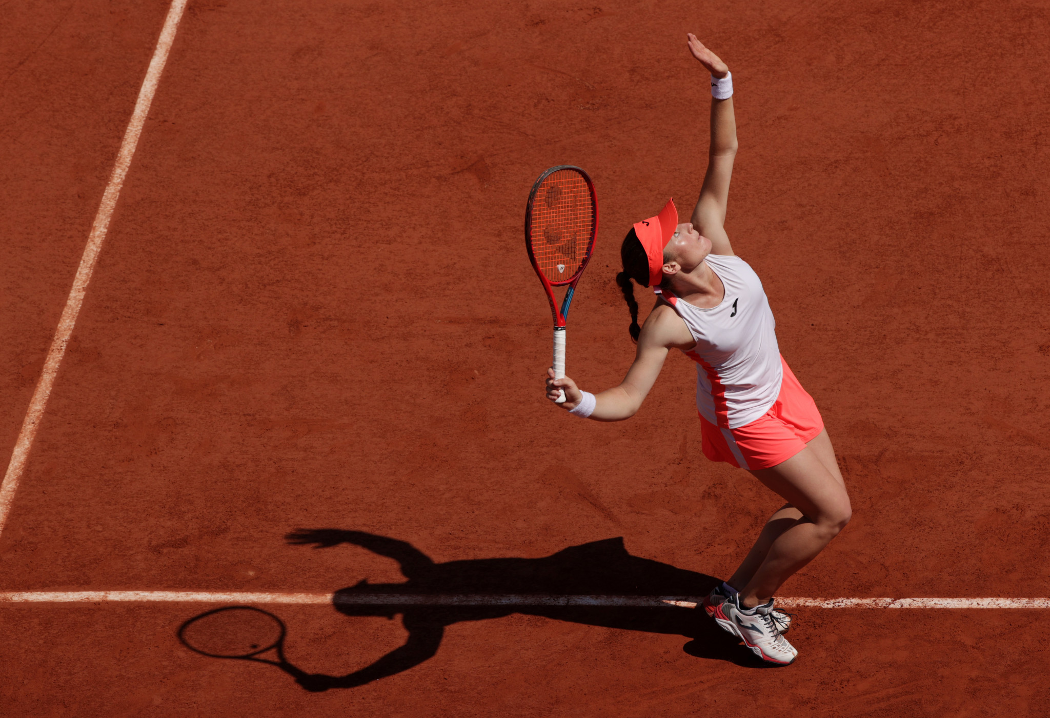 Unseeded Slovenian Tamara Zidansek has continued her fine run on the red clay of Roland-Garros ©Getty Images