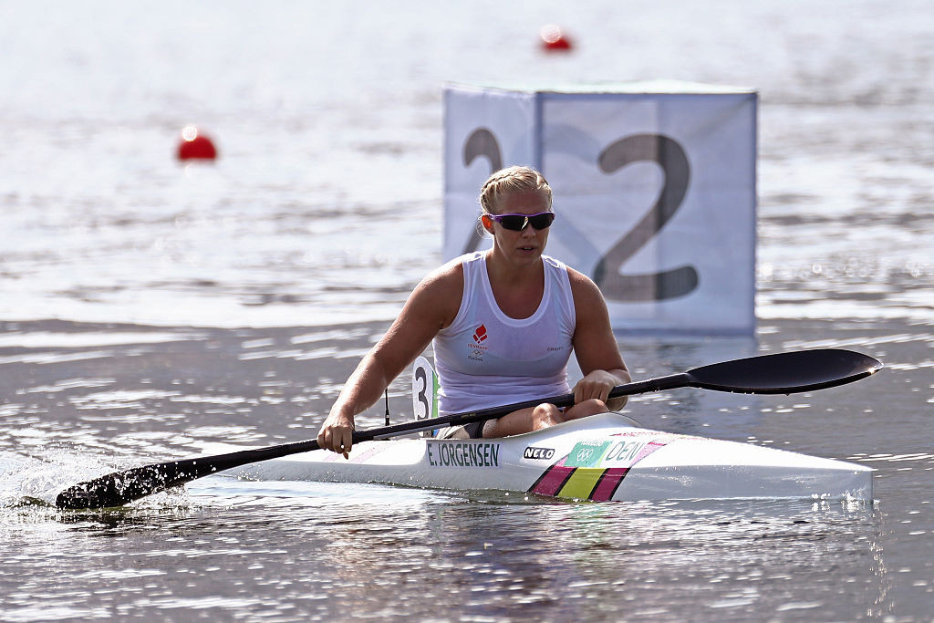 Denmark's Emma Jorgensen was one of several athletes to win two medals on the final day of the European Canoe Sprint Championships in Poznan ©Getty Images