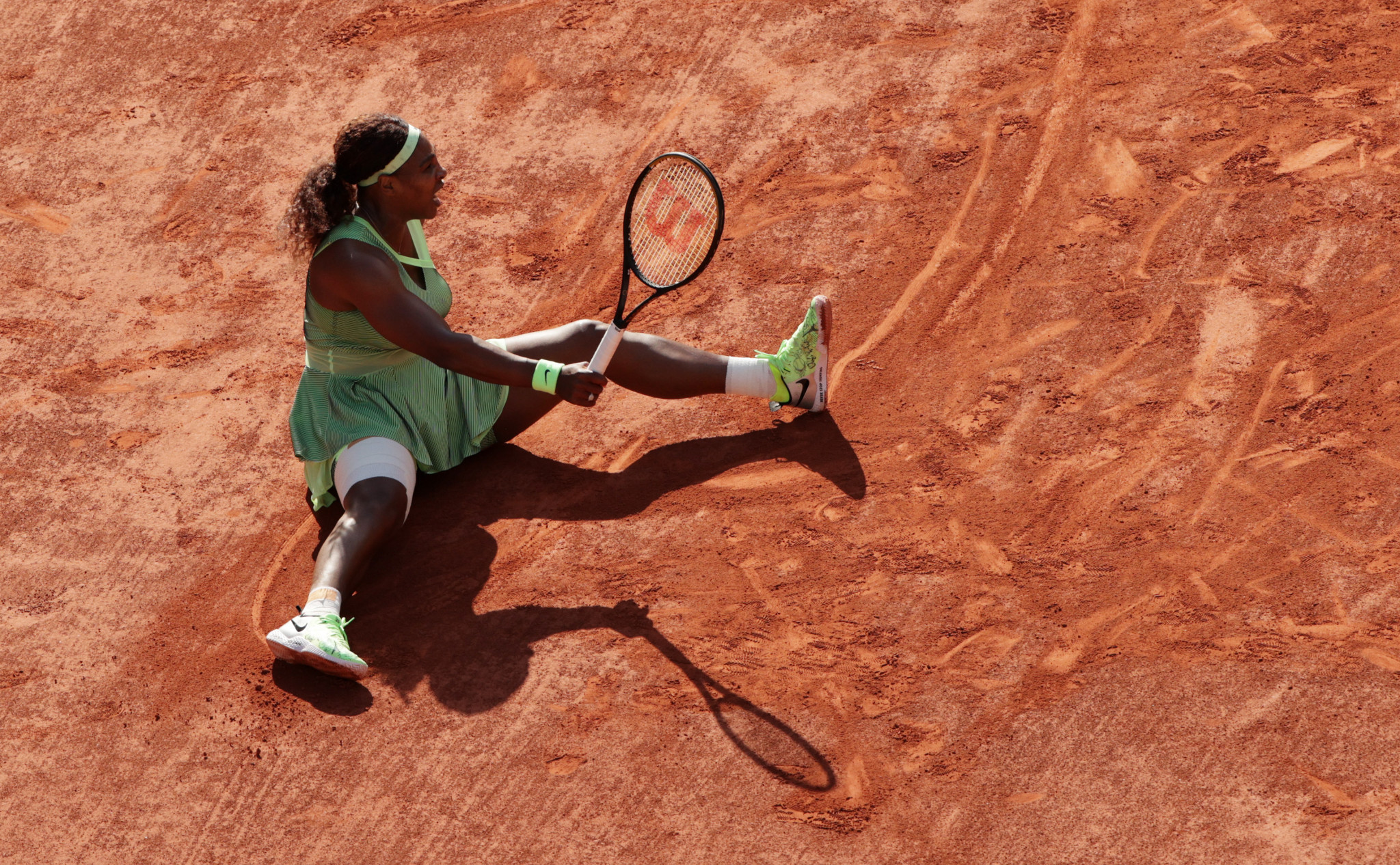 Serena Williams became the latest member of the women's top ten seeds to be eliminated from the French Open ©Getty Images