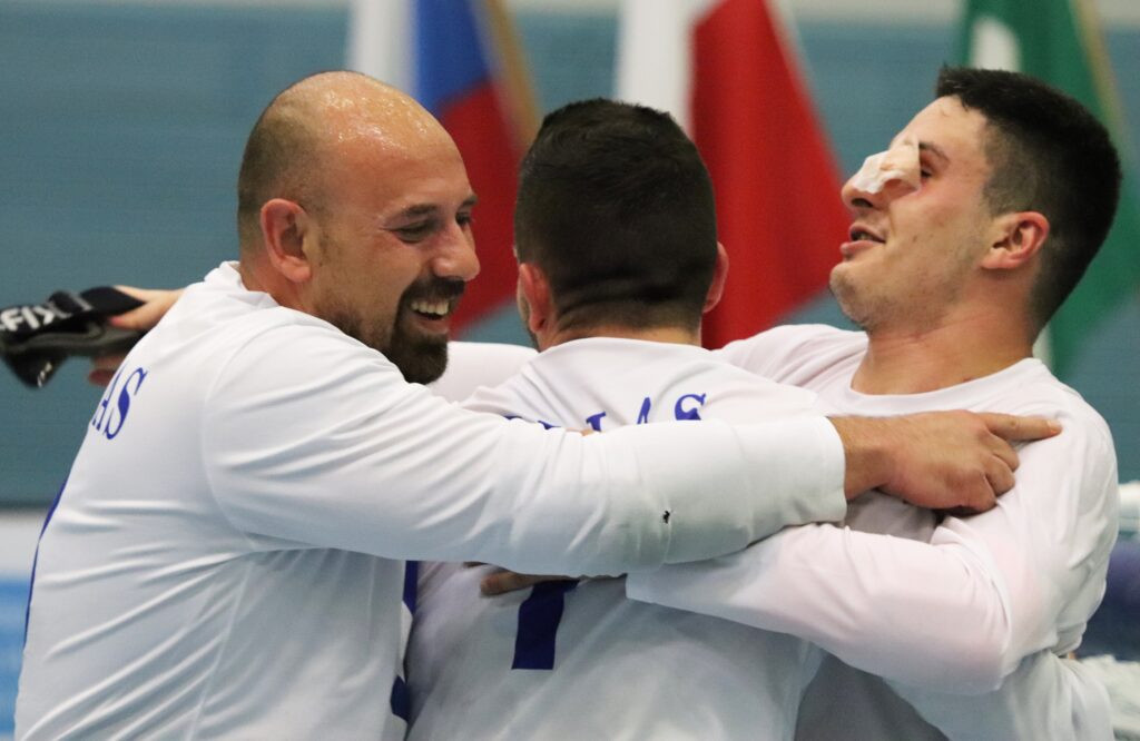 Greece claim gold at Goalball European Championships B