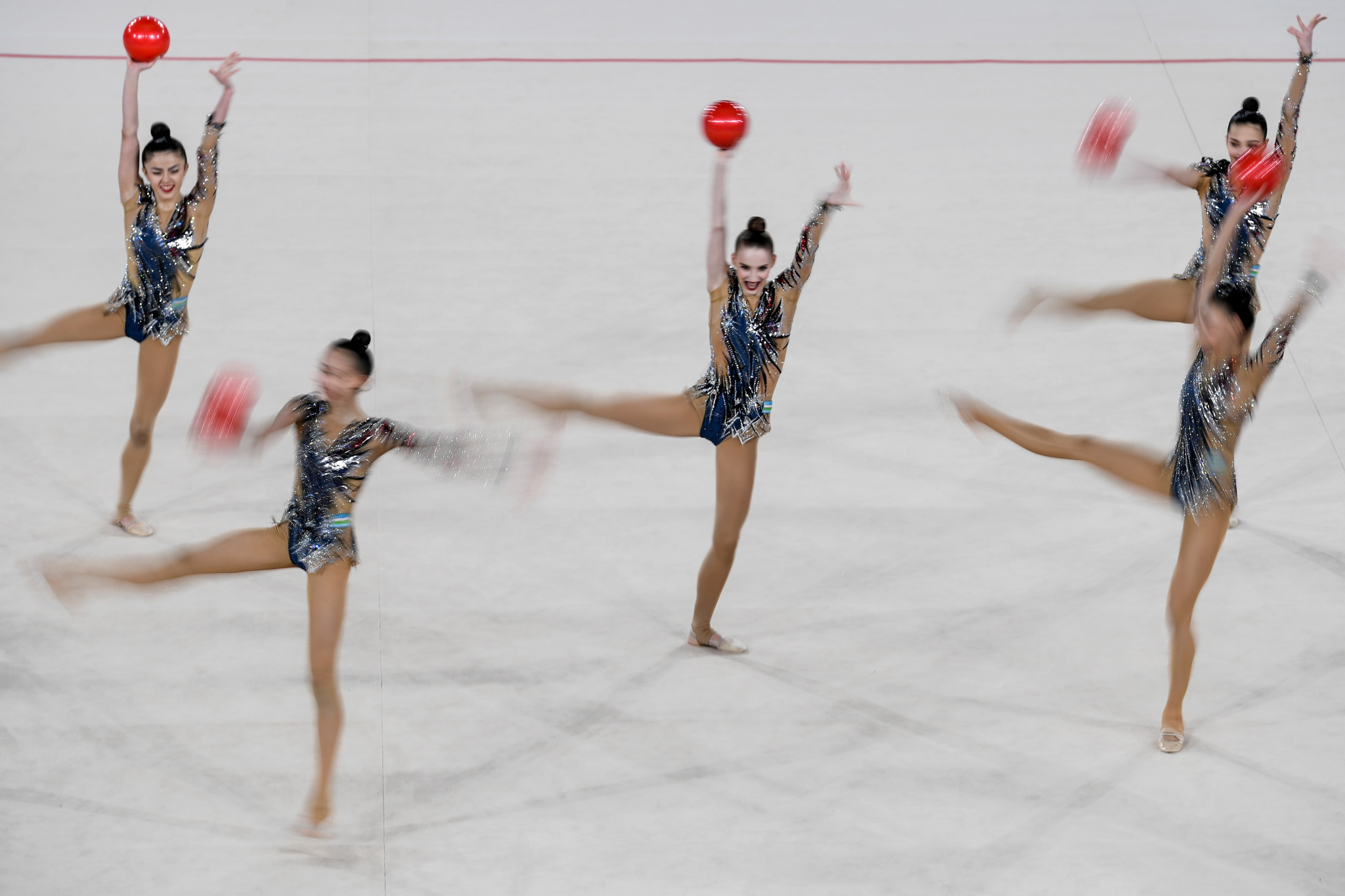 Uzbekistan will be looking for plenty of medals at the 2021 Asian Rhythmic Gymnastics Championships ©Getty Images