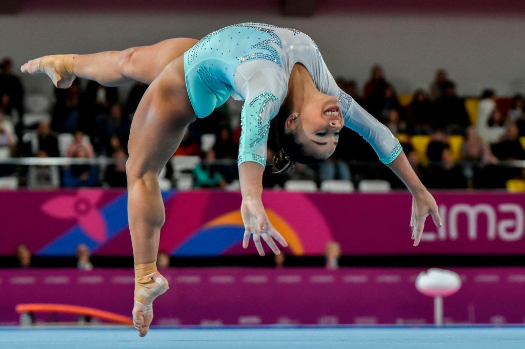 Hosts Brazil topped the medals table at the Pan American Artistic Gymnastics Championships in Rio ©Getty Images