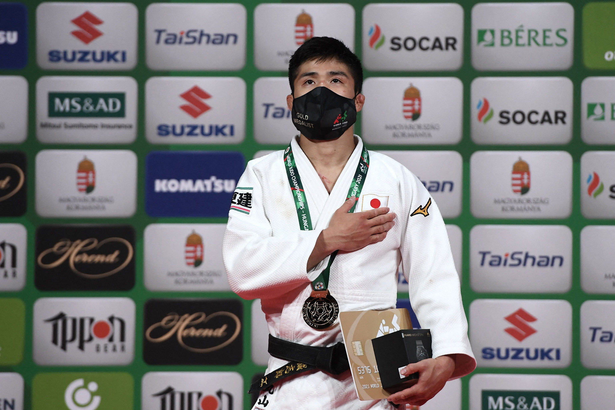 Maruyama and Shishime triumph on golden day for Japan at IJF World Championships