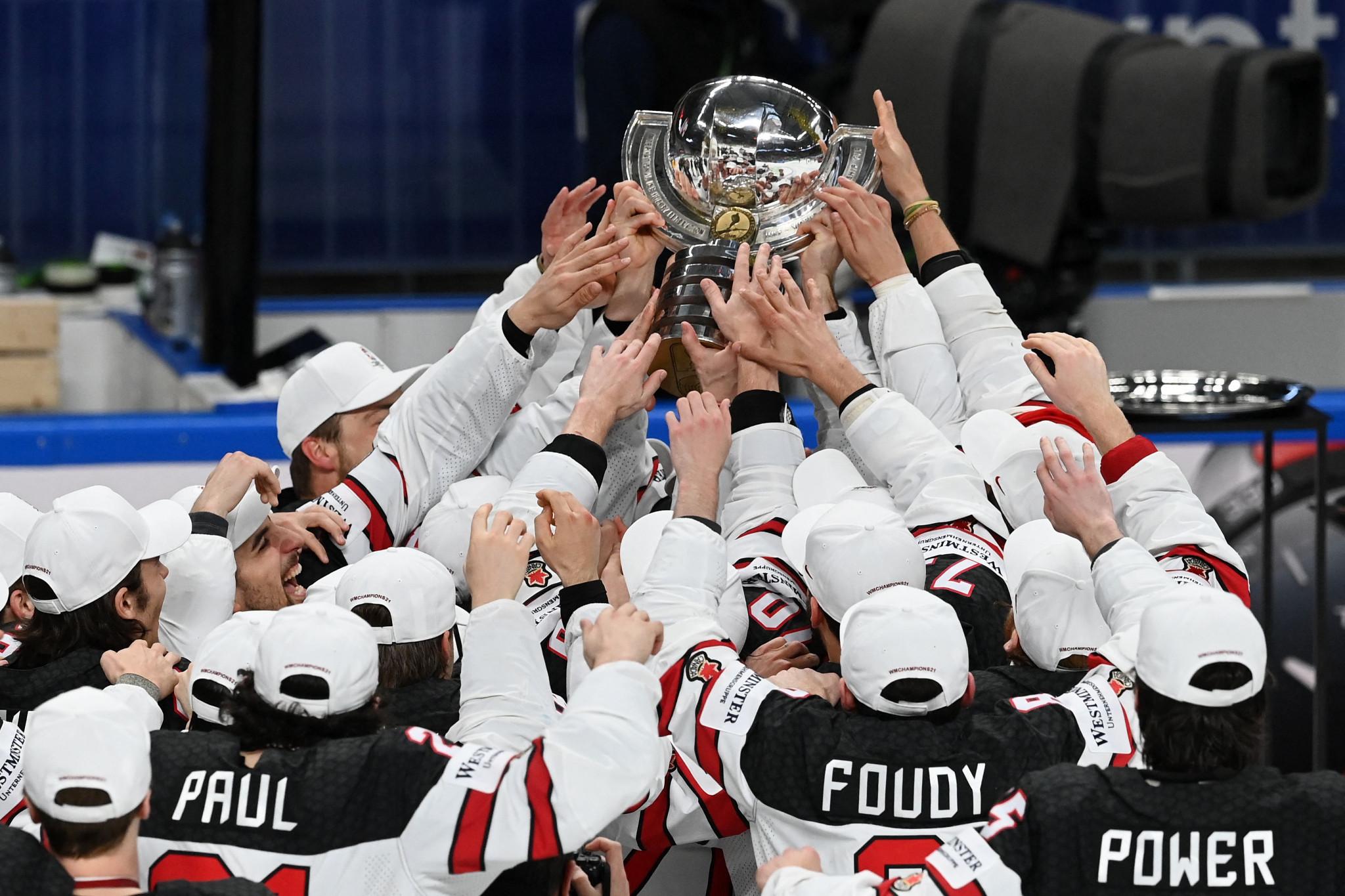Groups announced for 2022 IIHF Ice Hockey World Championship