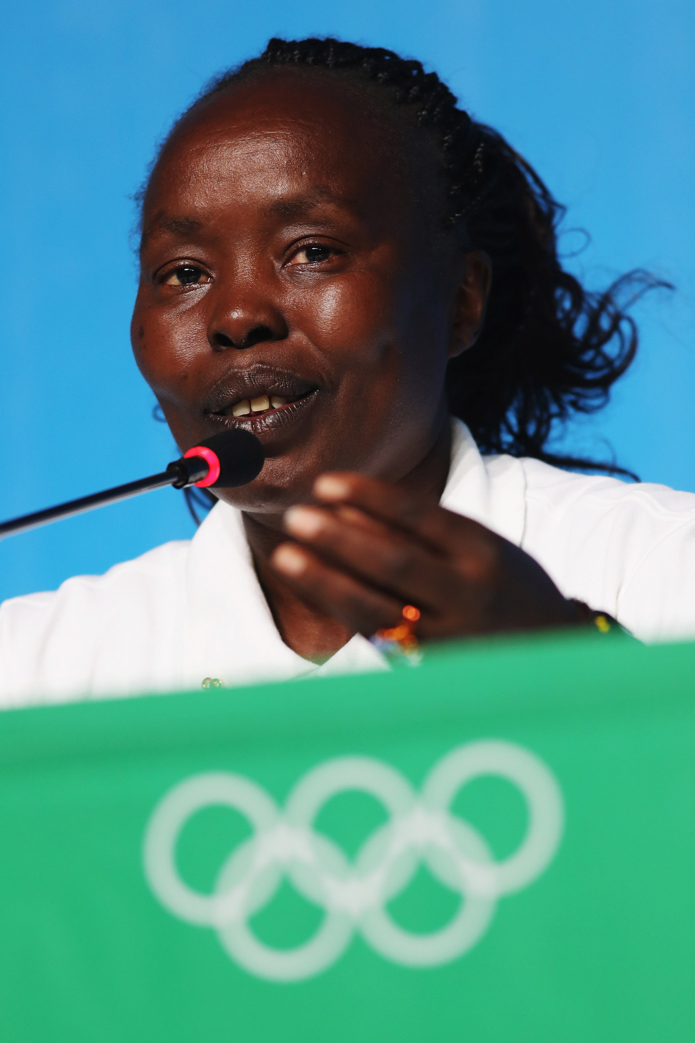Kenya's former world marathon record holder Tegla Loropue will be Chef de Mission for the Refugee Olympic Team at Tokyo 2020, a role she also carried out at Rio 2016 ©Getty Images
