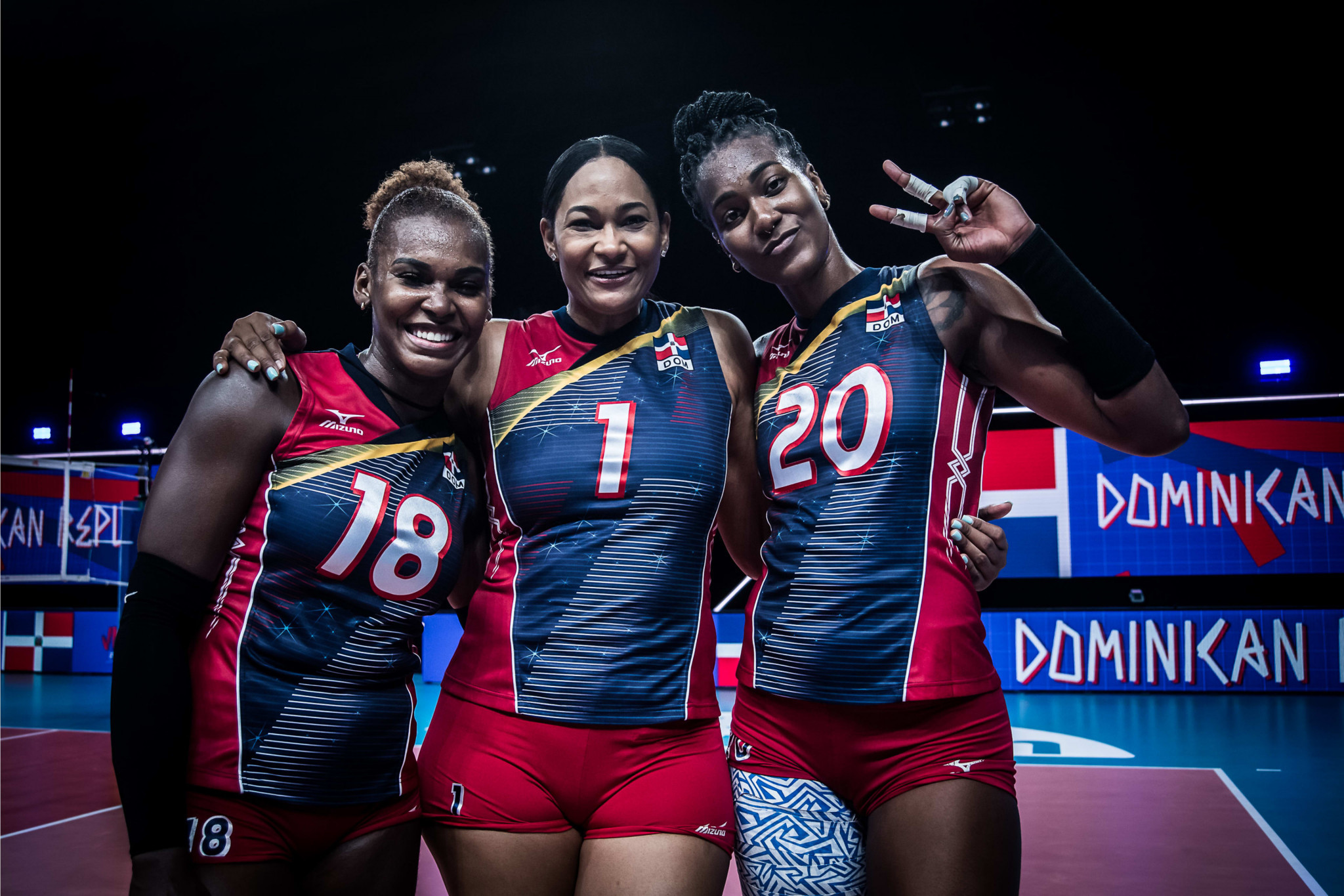 The Dominican Republic ended Turkey's unbeaten run at the Volleyball Nations League, leaving the US as the only undefeated side ©Volleyball World