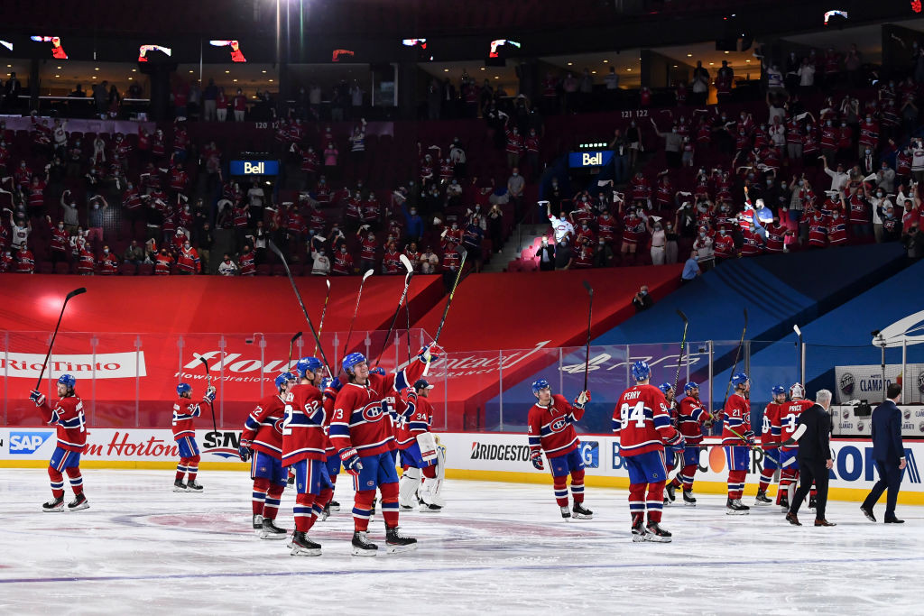 Montreal Canadiens will be able to host American NHL opposition in the Stanley Cup playoffs after border restrictions were adapted by the Canadian Government ©Getty Images