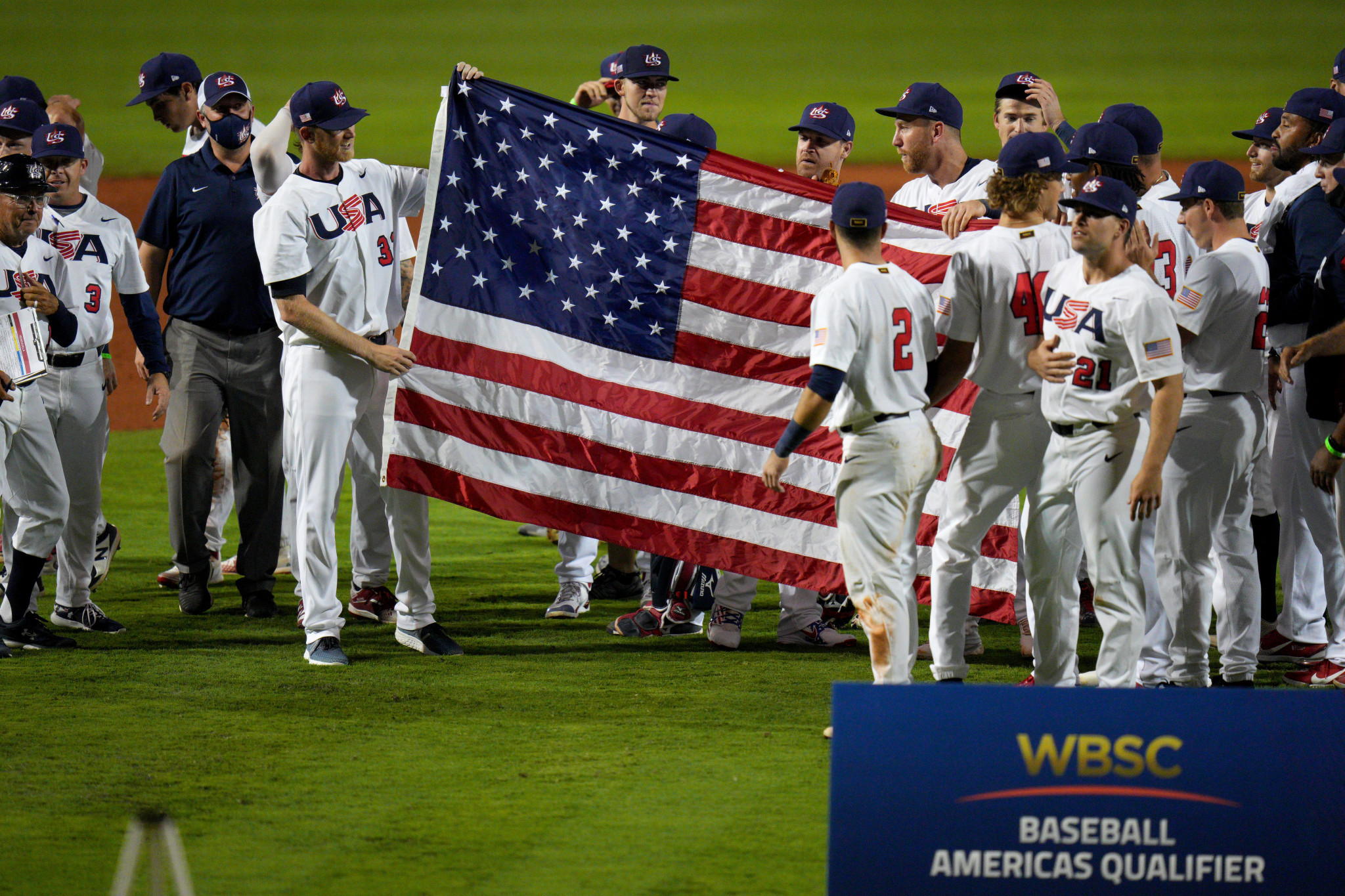 The WBSC offered vaccinations at the Americas Olympic qualifier ©Getty Images