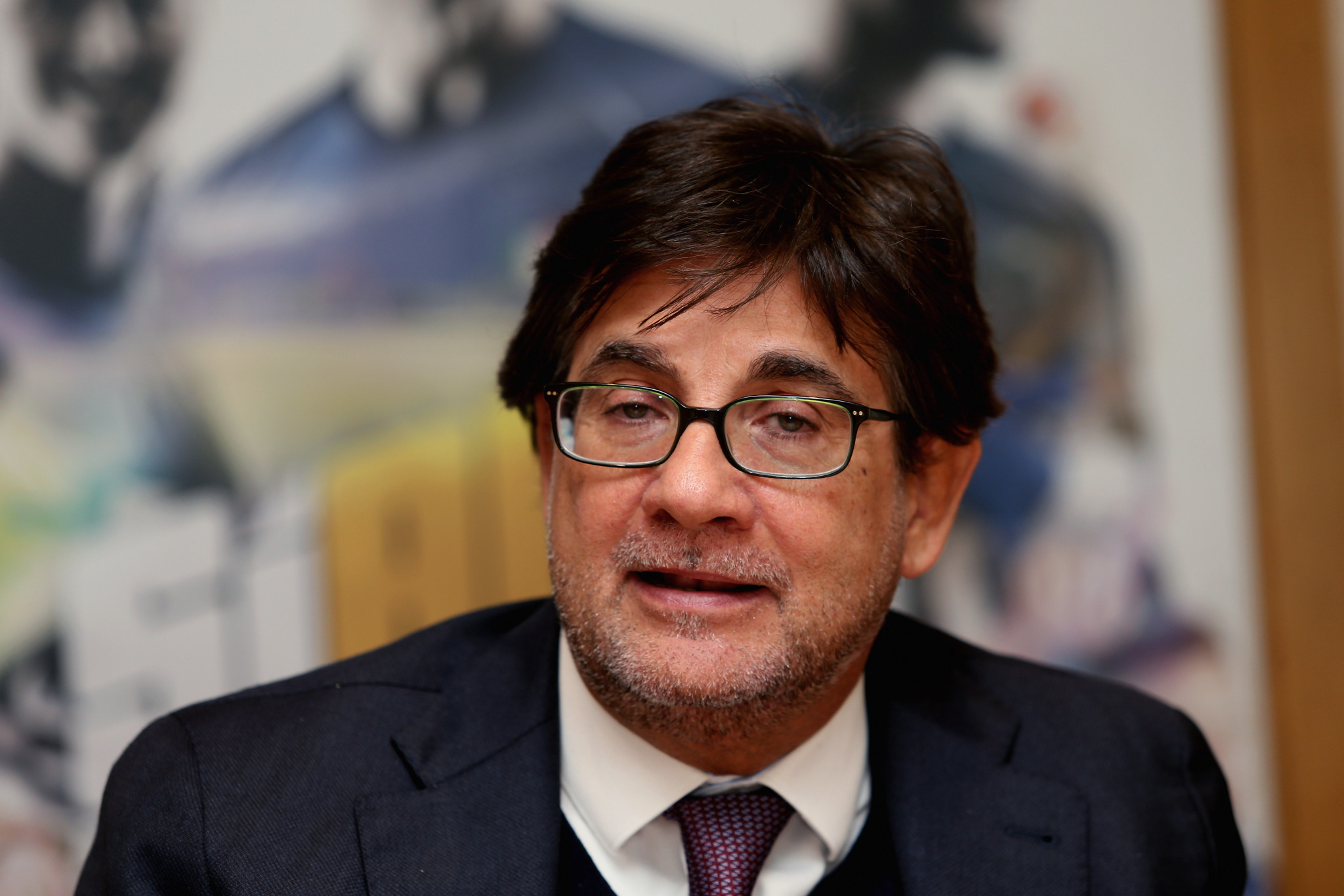 Luca Pancalli has been re-elected President of the Italian Paralympic Committee ©Getty Images