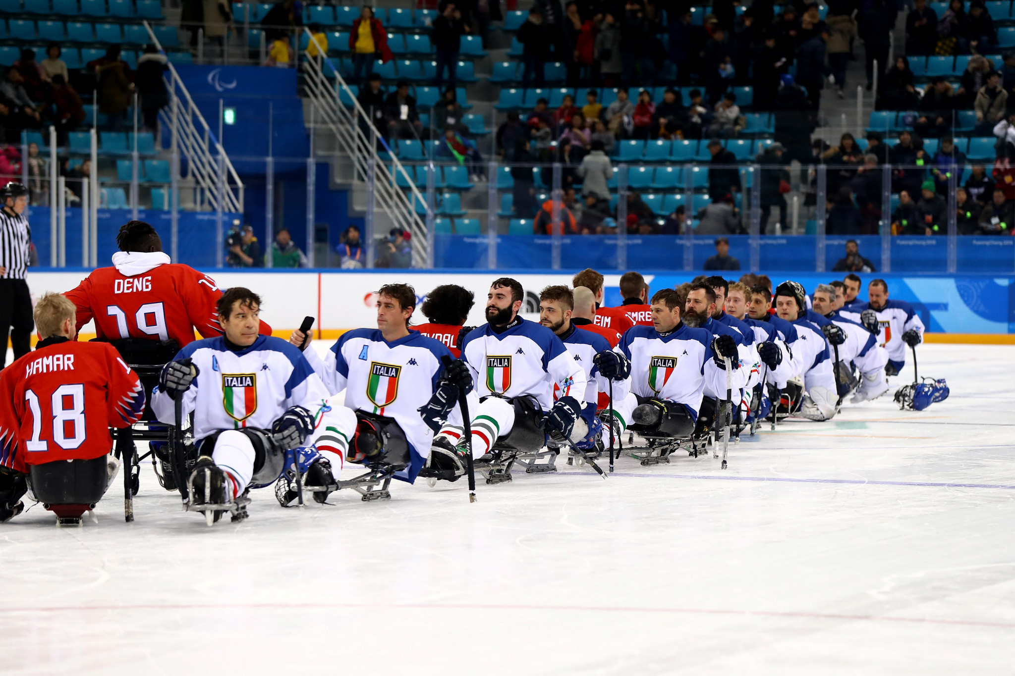 Italy will be expected to compete at three Paralympic Games during Luca Pancalli's latest term as President ©Getty Images