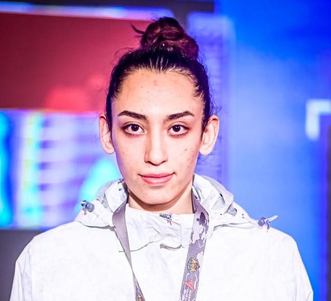 Olympic bronze medallist Kimia Alizadeh is a member of the refugee team ©World Taekwondo