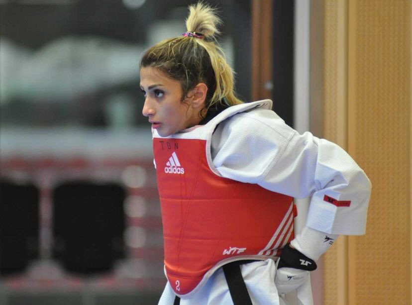 Dina Pouryounes Langeroudi now lives in The Netherlands after fleeing Iran ©World Taekwondo