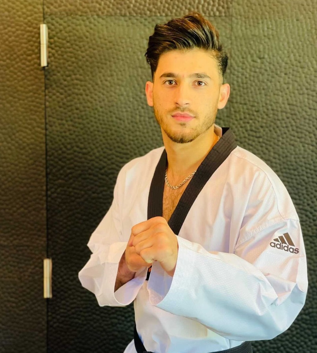 Abdullah Sediqi left Afghanistan and now lives in Belgium ©World Taekwondo