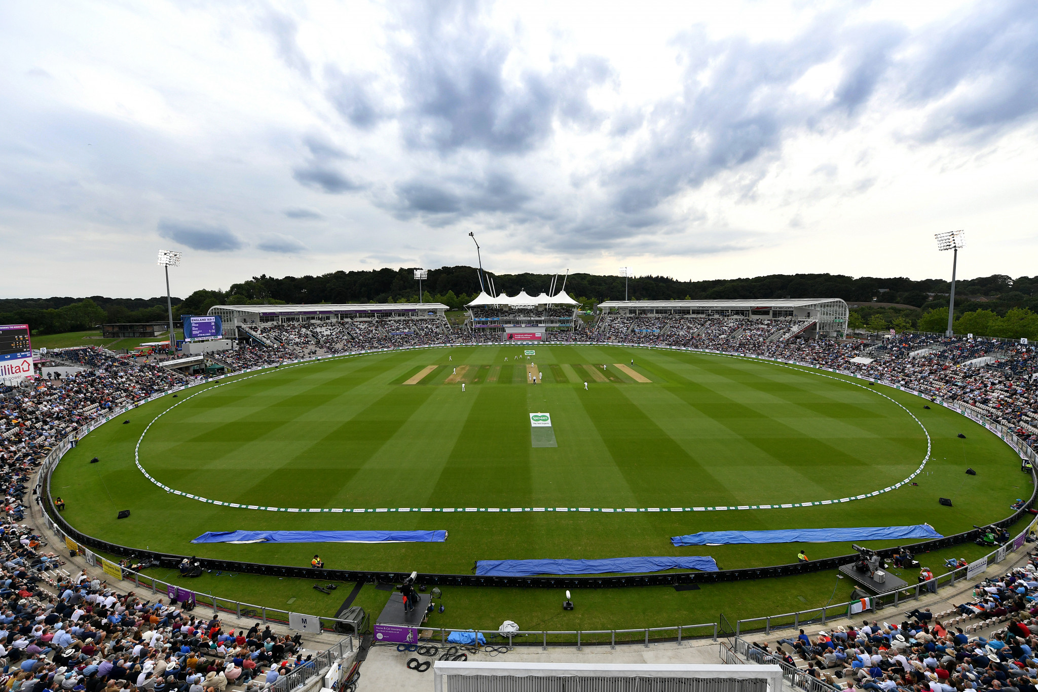 The Hampshire Bowl in Southampton is set to host the World Test Championship Final in a  bio-secure environment ©Getty Images