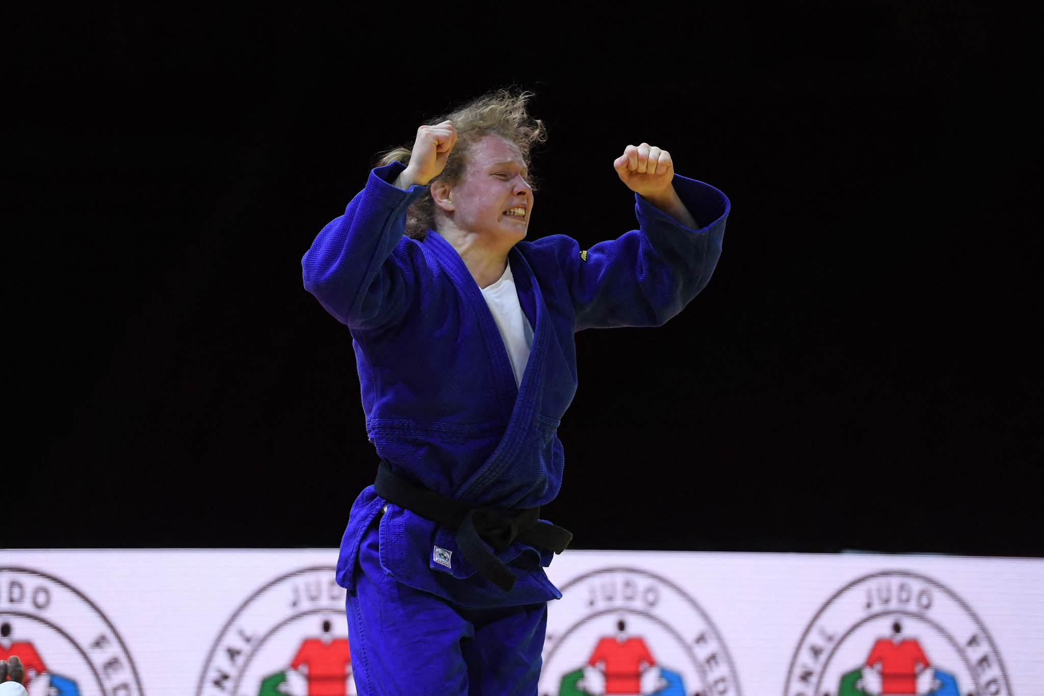 Sanne Vermeer was among two Dutch judoka to end the day with a bronze medal ©Getty Images
