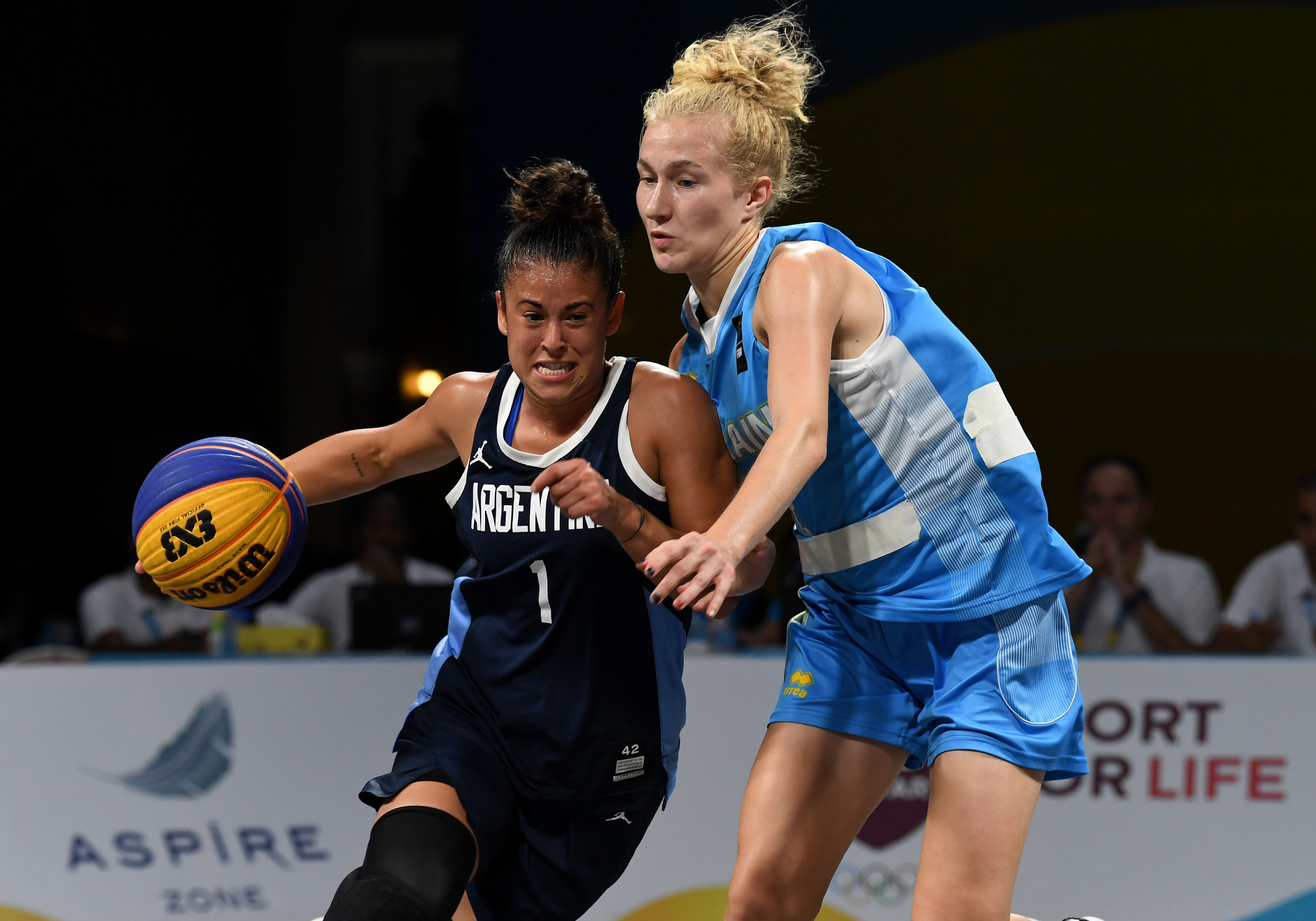 Women's 3x3 basketball is rapidly growing in popularity, the survey found ©Getty Images