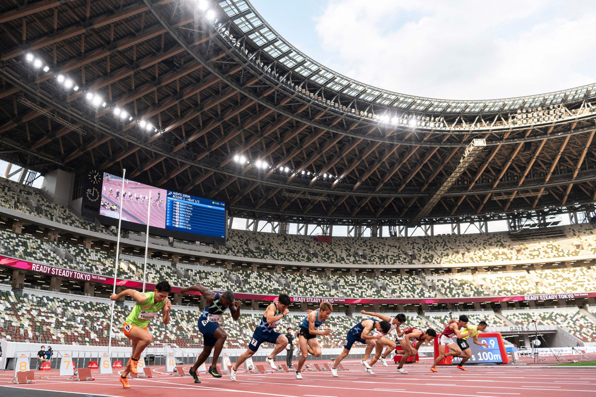 """A decision on whether or no spectators can attend Olympic events is expected t be made """"around the end of June"""" ©Getty Images"""