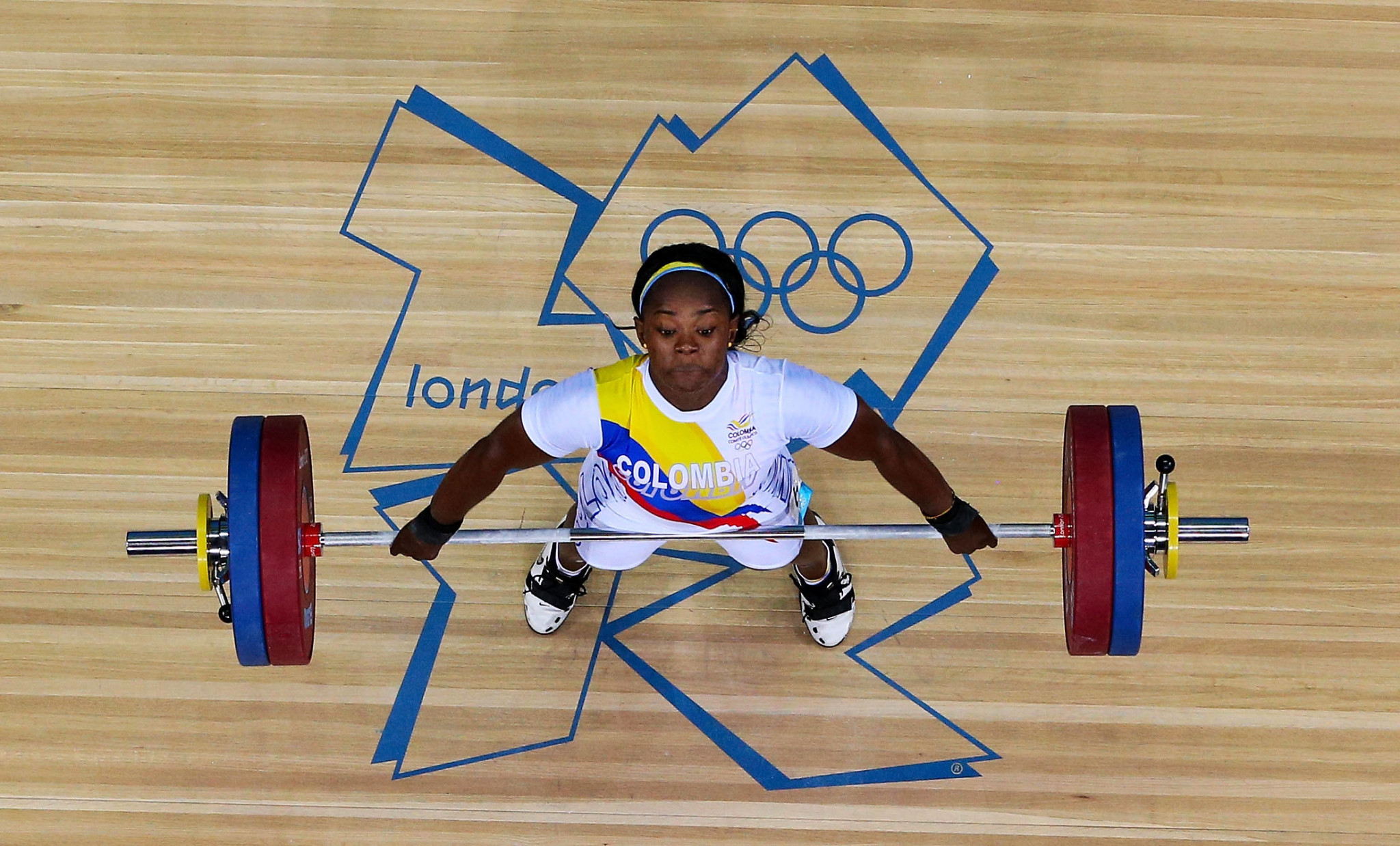 Colombia's Ubaldina Valoyes has now been upgraded to the bronze medal at London 2012 following doping disqualifcations of three rivals who had originally finished ahead of her ©Getty Images