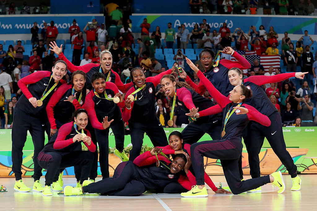 The United States, world-ranked number one in women's basketball, will start their defence of the FIBA AmeriCup in Puerto Rico tomorrow ©Getty Images