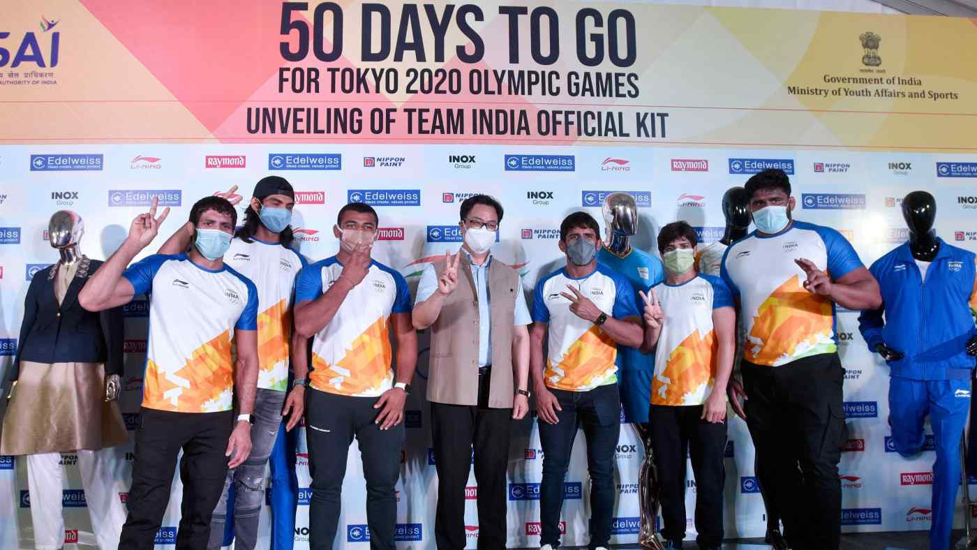 Public backlash forces Indian Olympic Association to end Li-Ning kit deal for Tokyo 2020