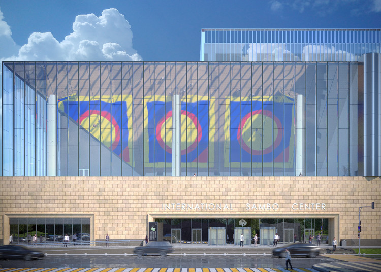 The International Sambo and Boxing Center is under construction in Moscow ©FIAS
