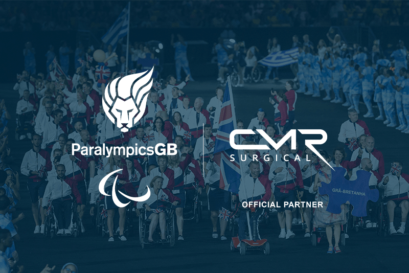 """CMR Surgical has become the """"Official Medical Device Partner"""" of ParalympicsGB ©CMR Surgical"""