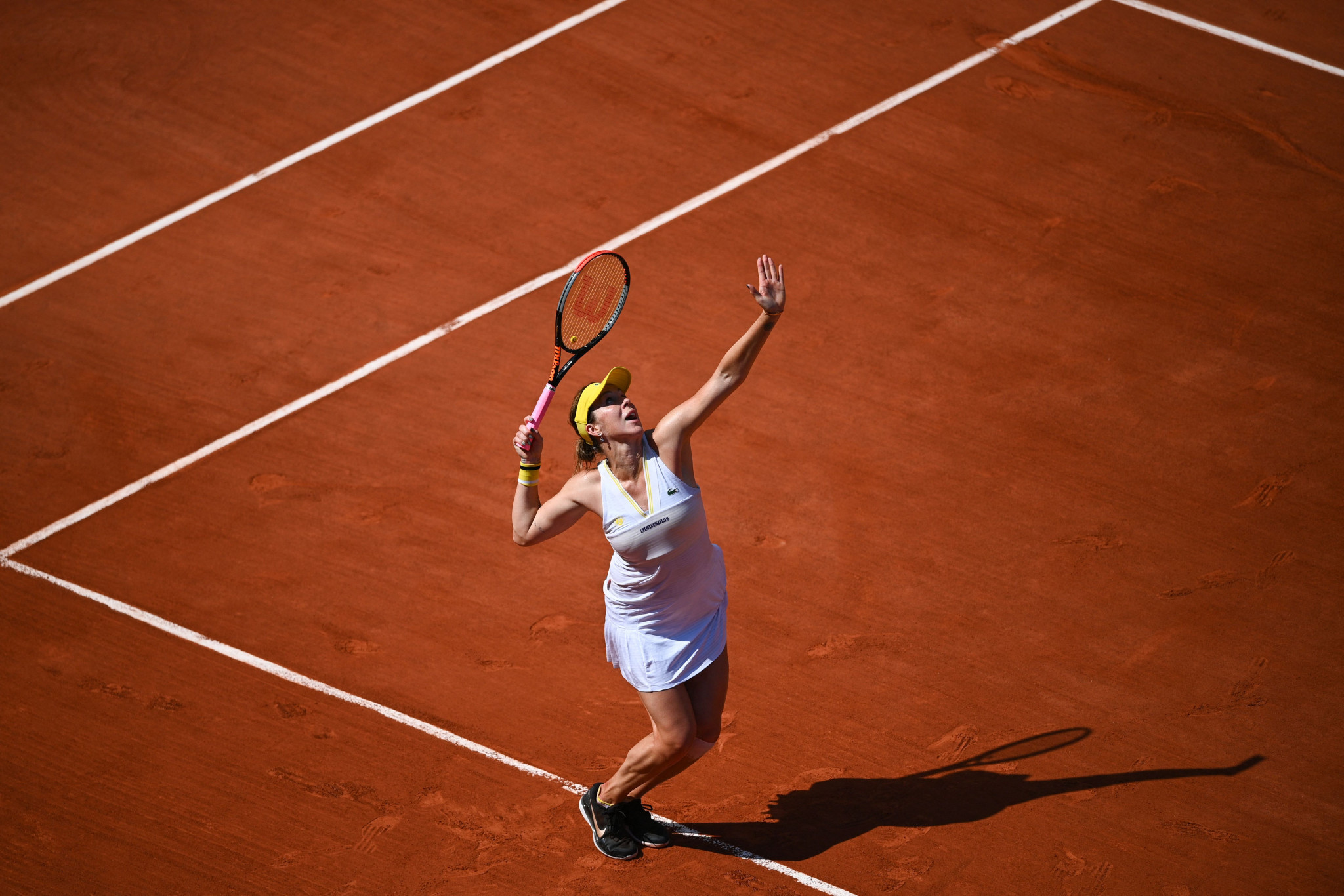 Russia's Anastasia Pavlyuchenkova is also through to a first Grand Slam final ©Getty Images