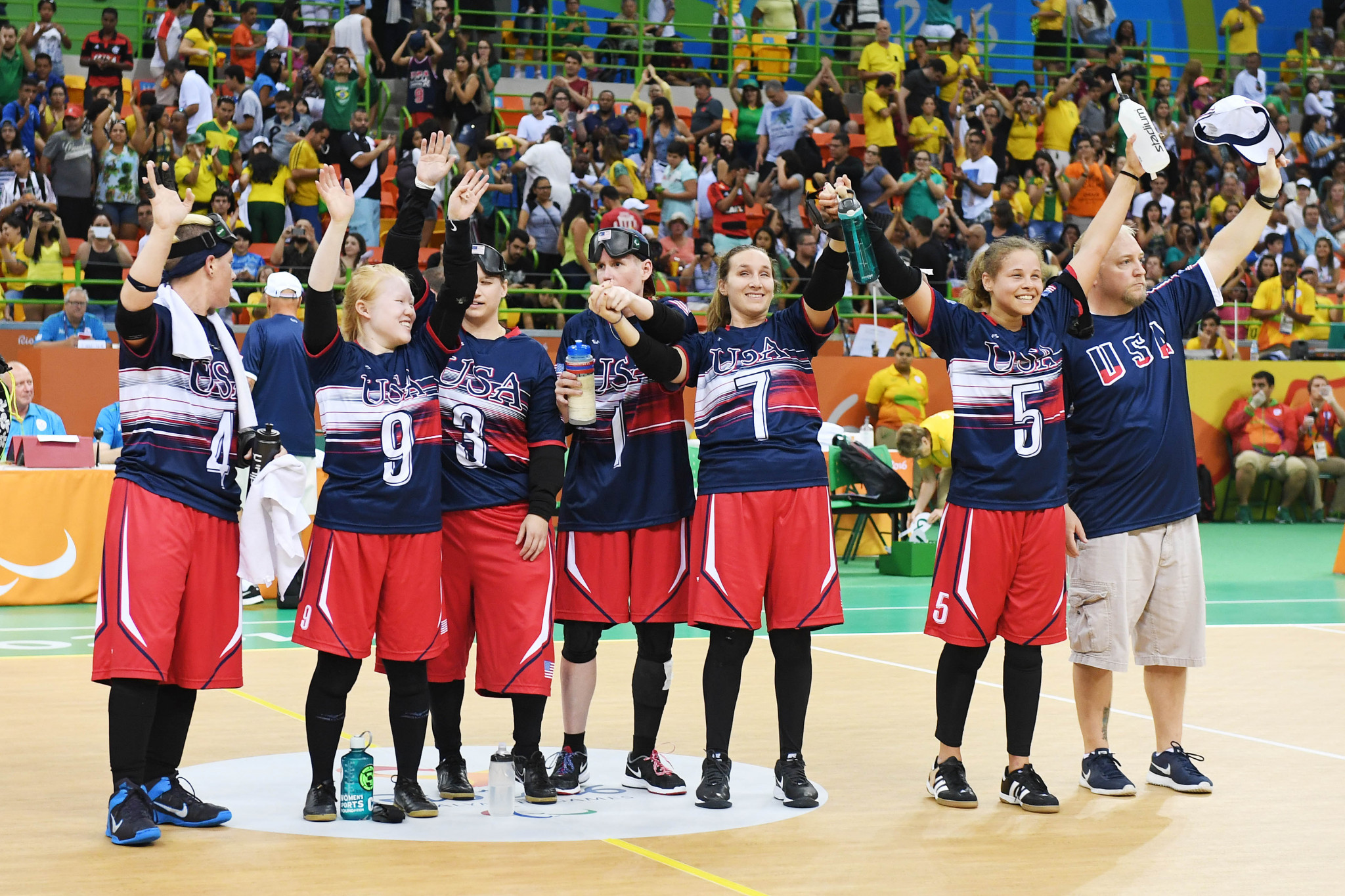 US name strong goalball squads for Tokyo 2020