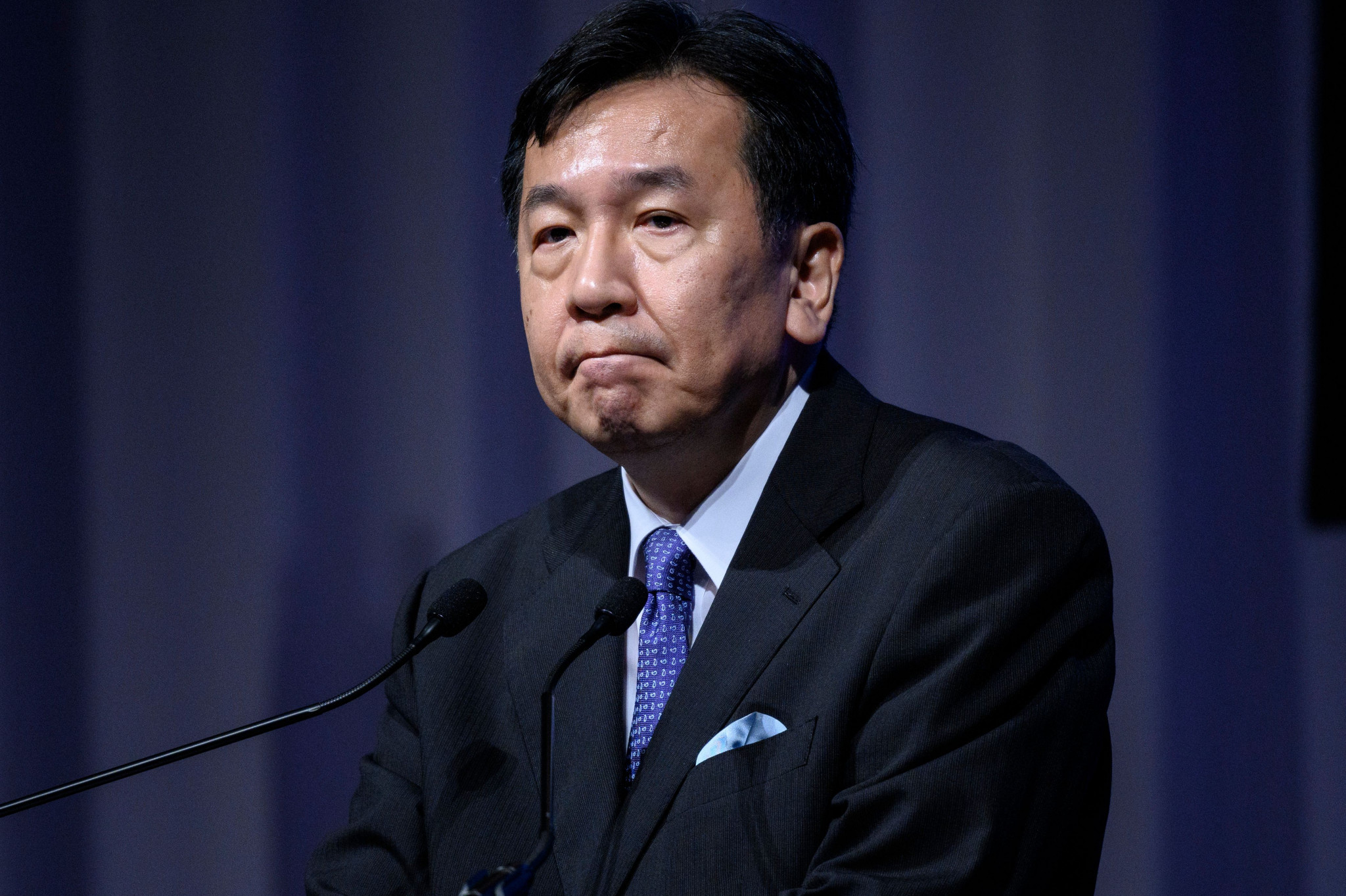 Yukio Edano believes Thomas Bach can participate in the Olympics remotely ©Getty Images