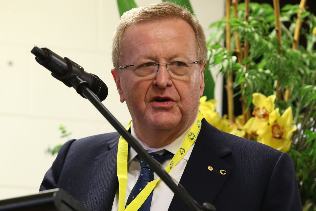 AOC President and IOC vice-president John Coates has claimed Brisbane being awarded the 2032 Games is not a done deal ©Getty Images