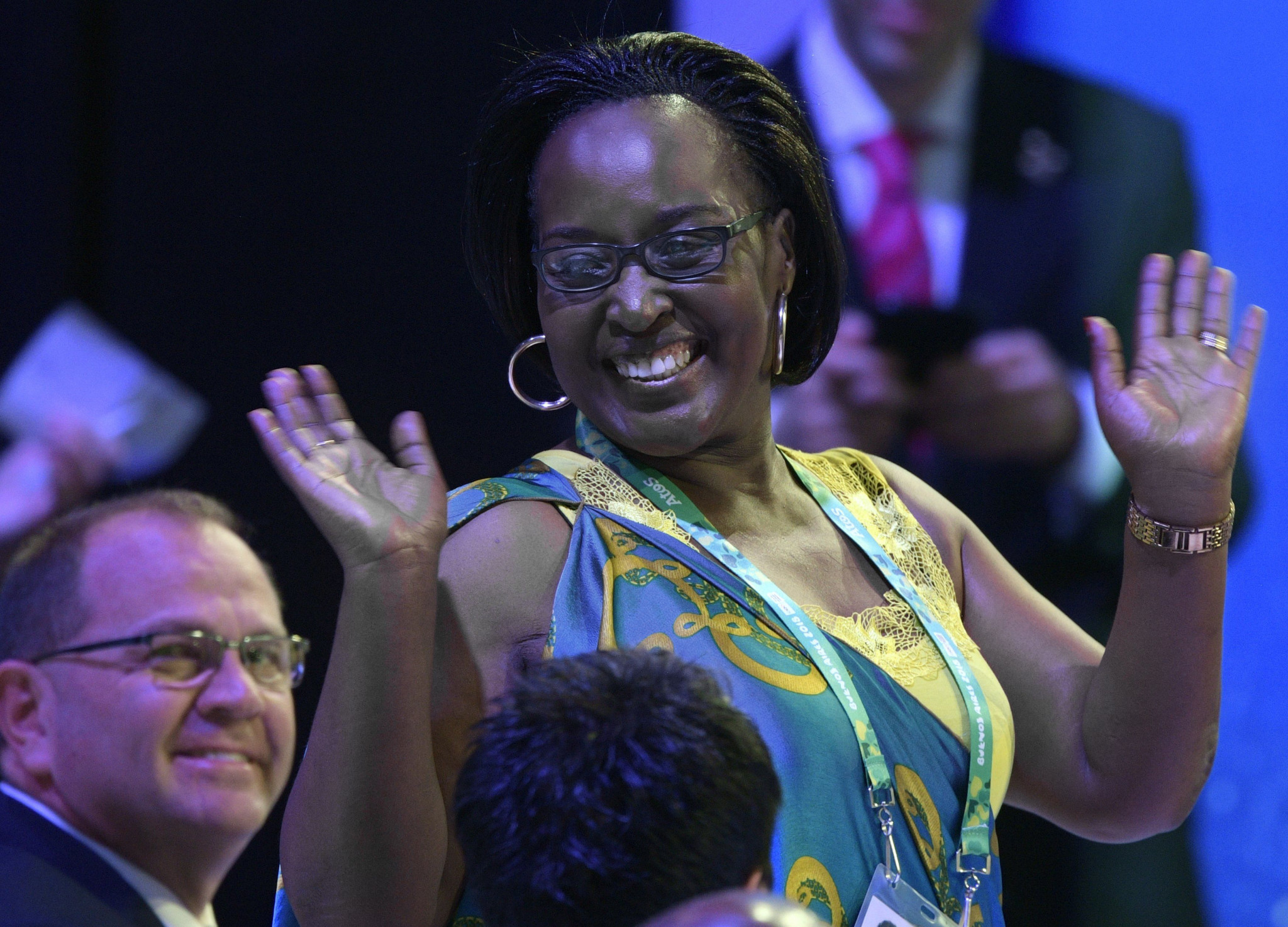 Felicite Rwemarika has lived a remarkable life from child refugee to IOC member ©Getty Images