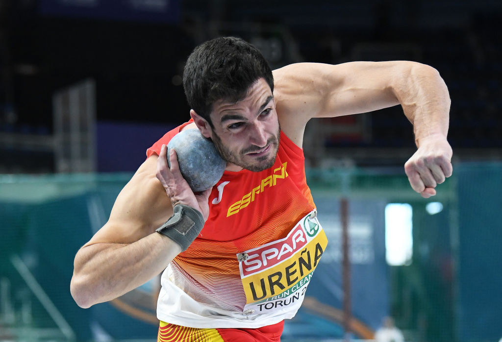 Spain's European indoor silver medallist Jorge Ureña will be among those decathletes seeking to secure a Tokyo 2020 Olympic place at the World Athletics Challenge meeting starting in Tenerife tomorrow ©Getty Images