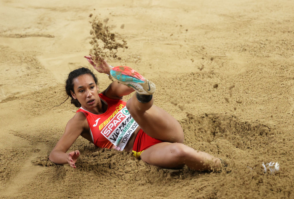 Spain's Maria Vicente will hope to secure a Tokyo 2020 Olympics heptathlon place when she competes in the World Athletics Challenge starting tomorrow in Arona, Tenerife ©Getty Images