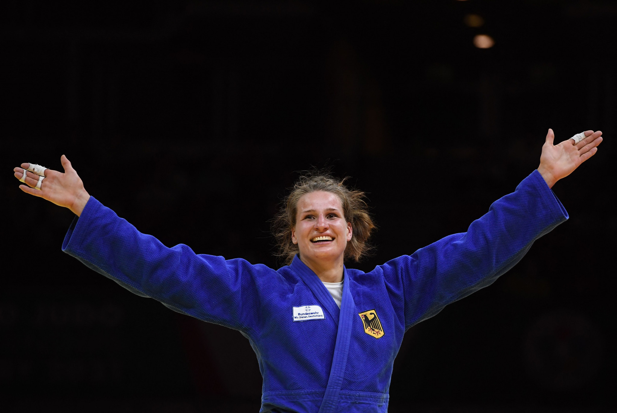 Wagner claims first world gold medal at IJF World Judo Championships
