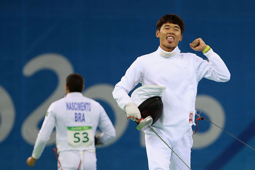 South Korea's Woongtae Jun reached Sunday's men's final of the UIPM World Championships in Cairo in fine style ©Getty Images