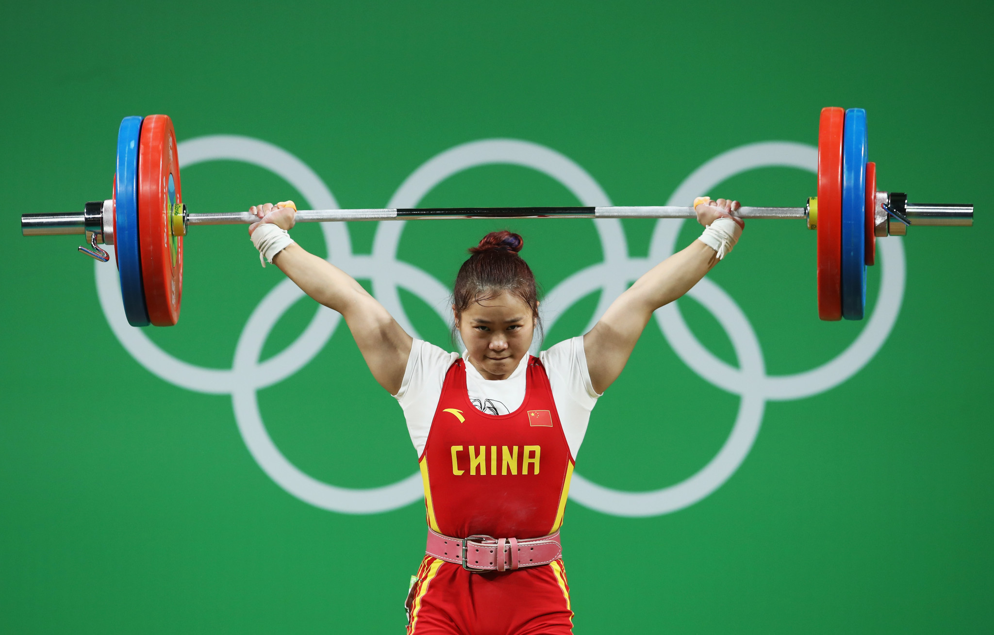 Olympic champion Deng Wei has been left out of China's team for Tokyo 2020 because of injury ©Getty Images